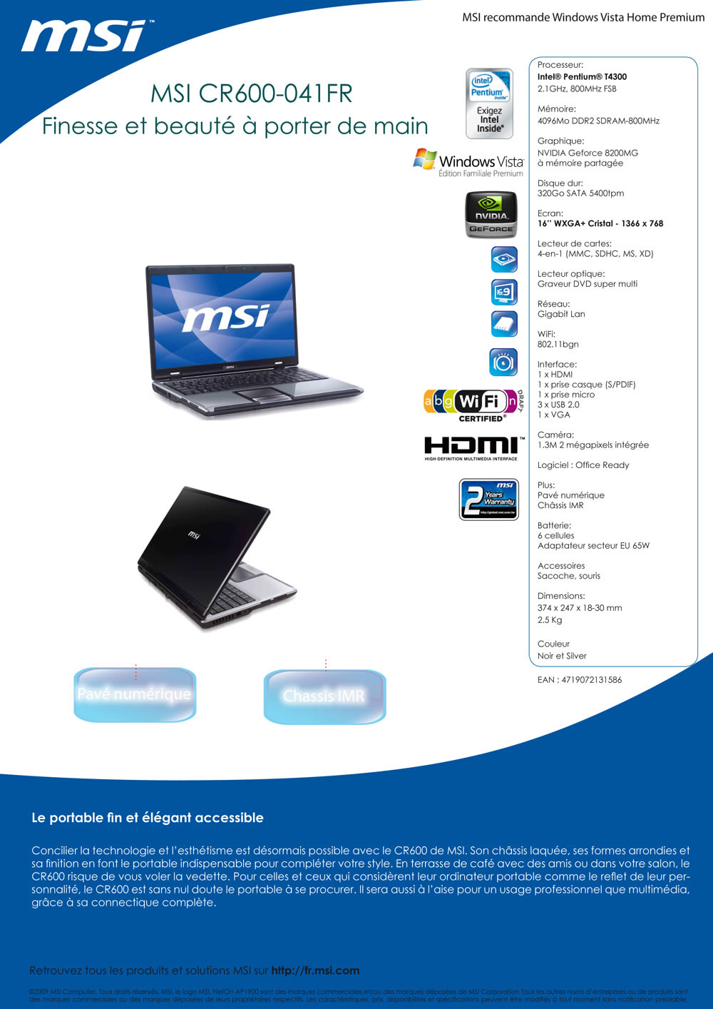 Config Pc Portable